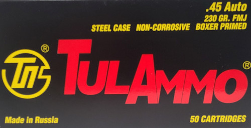 .45 Auto TulAmmo 230 Grain FAST Shipping