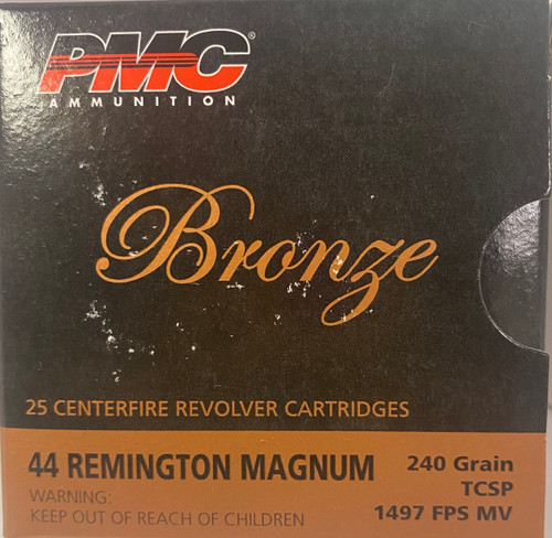 PMC 44 Remington Magnum Brass Casing 240 grain PMC TCSP