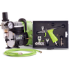 GCK02 Combo Kit w/Side Feed Pistol Airbrush & Compressor