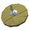 Klingspor Abrasives Sanding Star 120 Grit Back View