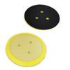 "Klingspor Abrasives F-J Backing Pad, Hook & Loop, 5"" X No Hole, Porter Cable"