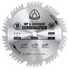 "Klingspor's Rip & Crosscut Combination Blade, 10""x 50 Teeth"