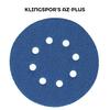 Klingspor Abrasives 5 Inch X 8 Hole Alumina Zirconia Disc