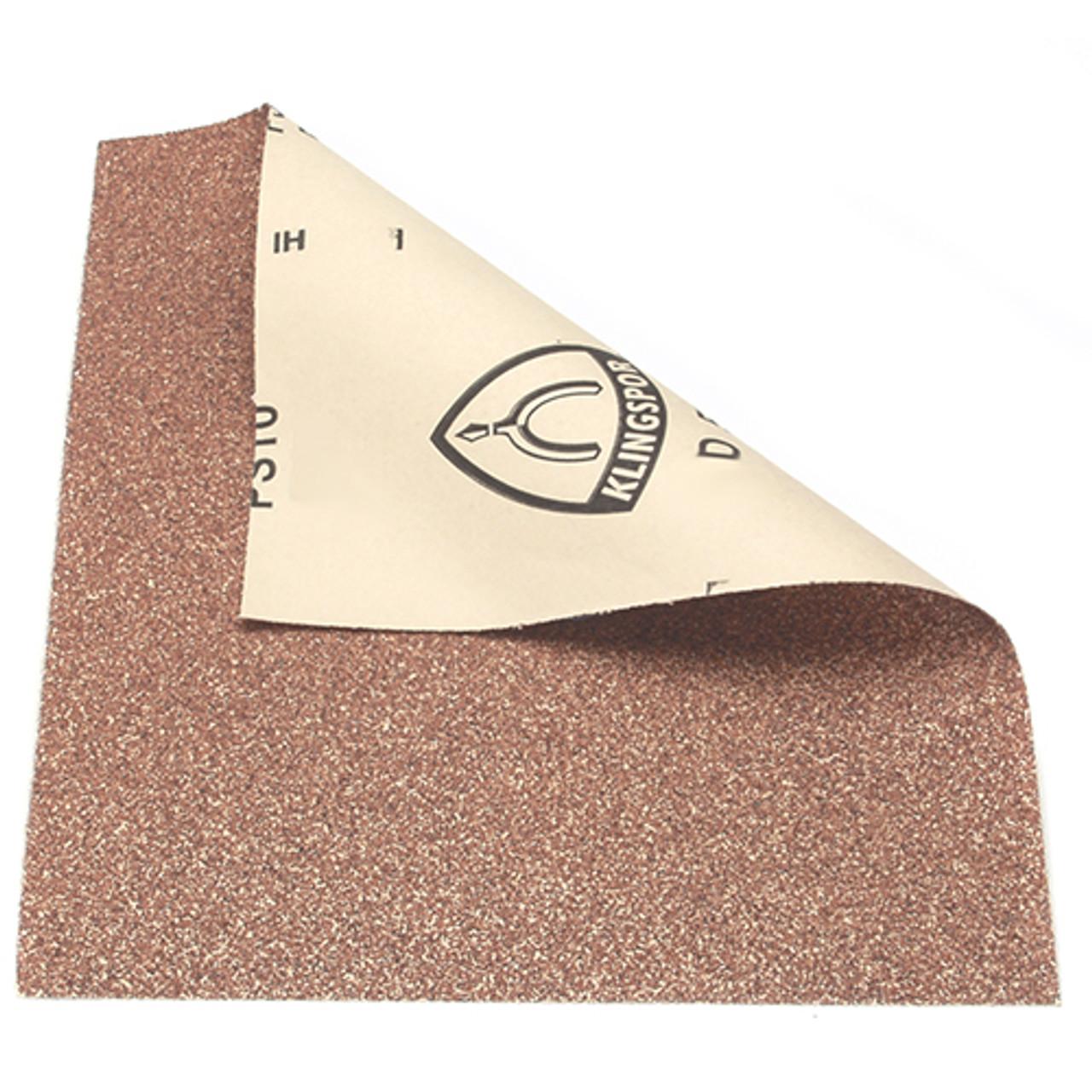 """Klingspor Abrasives 100 Grit, Light Weight, Garnet, 9""""x 11"""" Sheets, 50pk"""