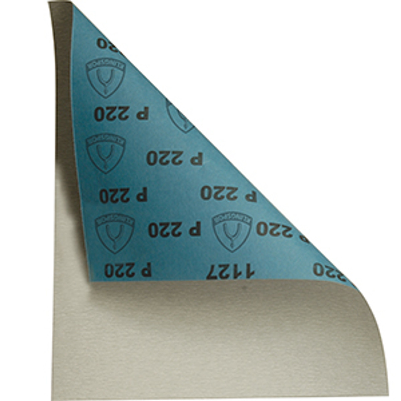 "Klingspor Abrasives 220 Grit, Stearate Aluminum Oxide, Latex Backed, 9""x 11"" Sheets, 50pk"