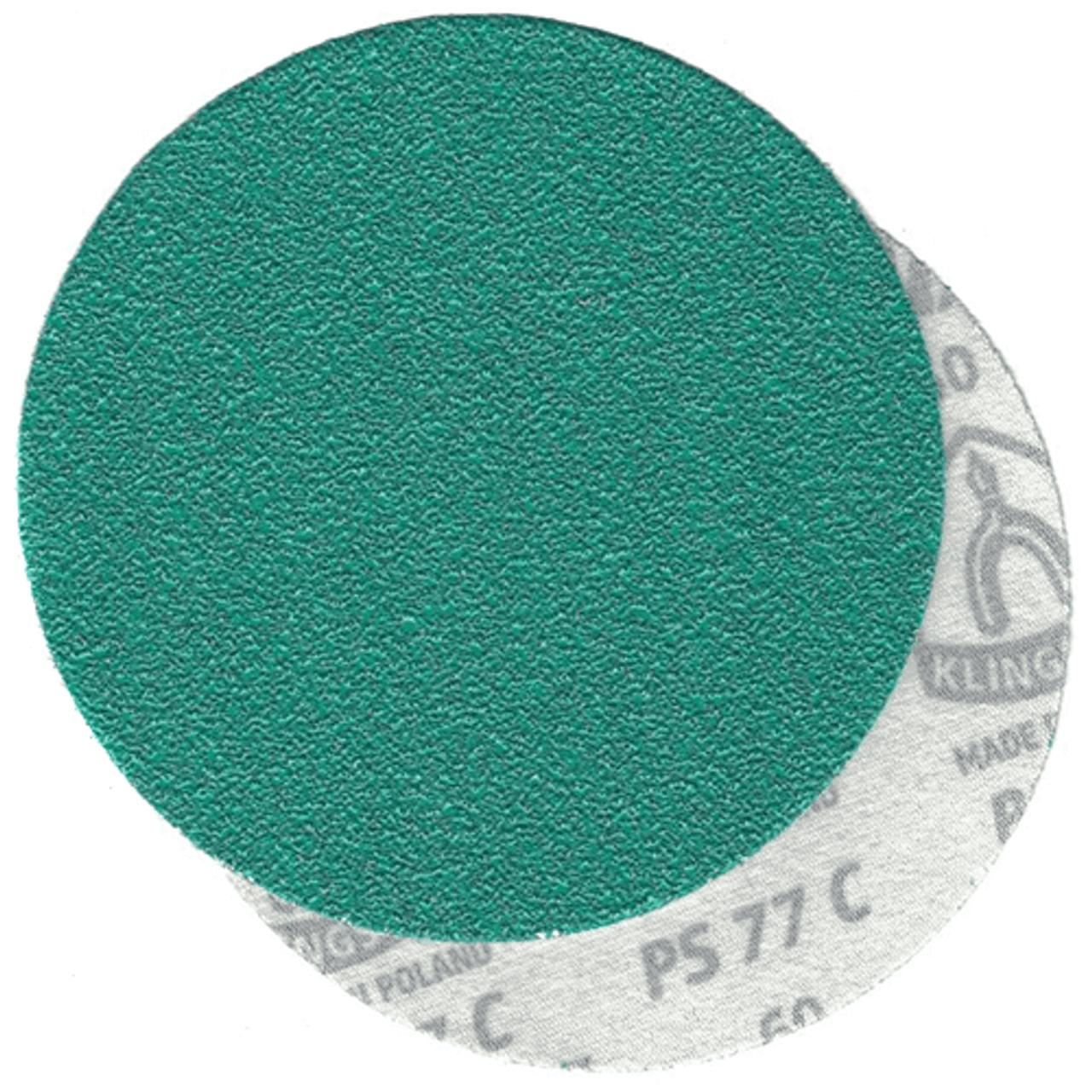 Klingspor Abrasives GreenTec 11 Inch H&L 80 Grit Disc 5pk