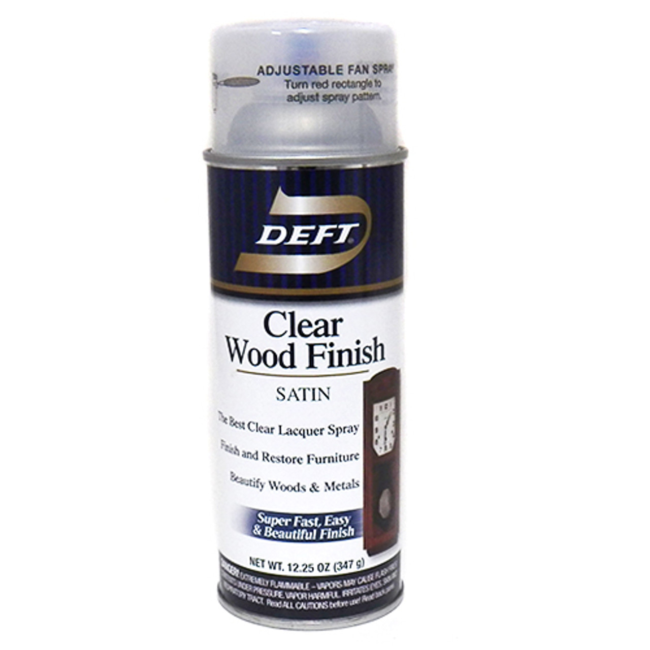 Deft Clear Wood Finish Satin Aerosol
