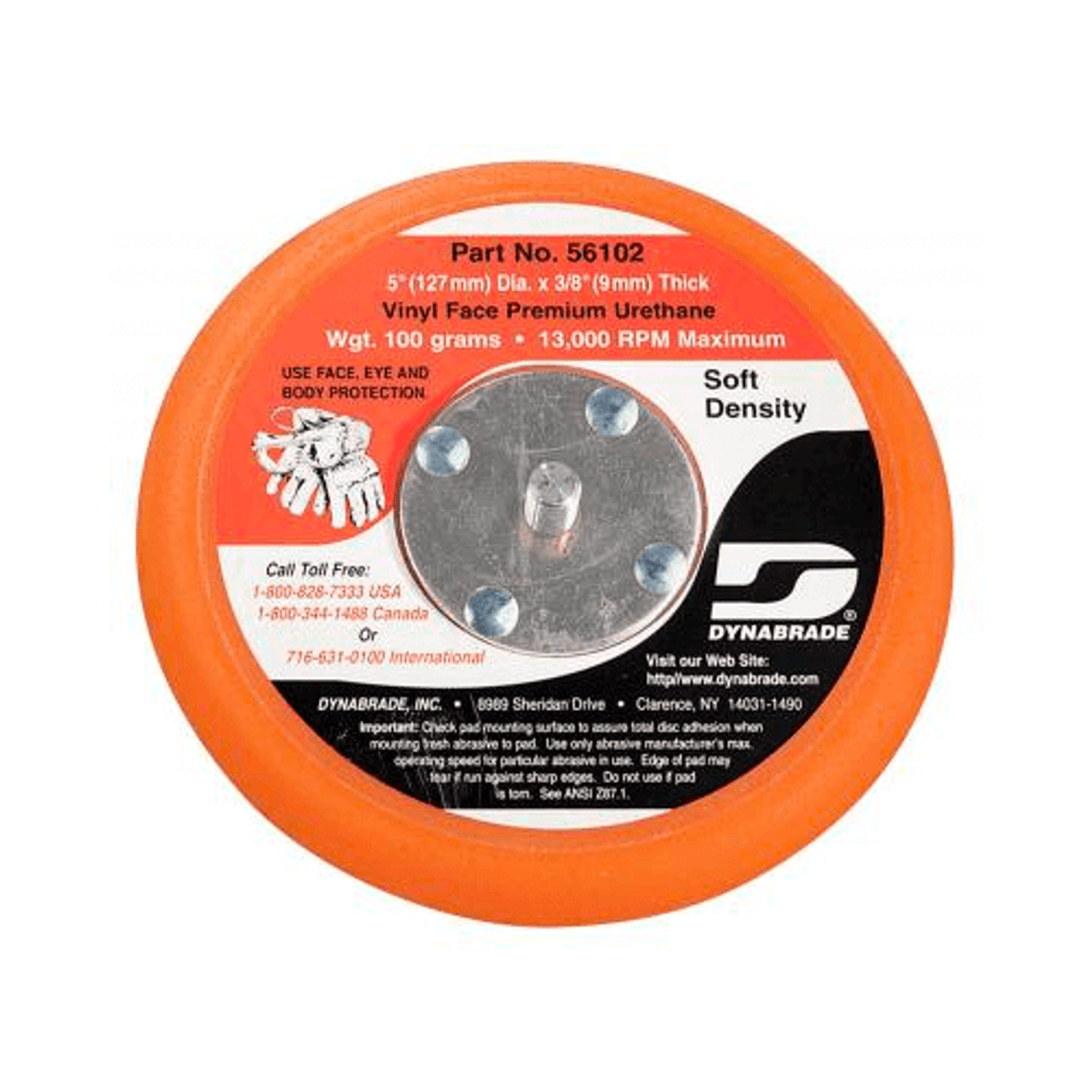 "Dynabrade 5"" PSA Soft Backing Pad"
