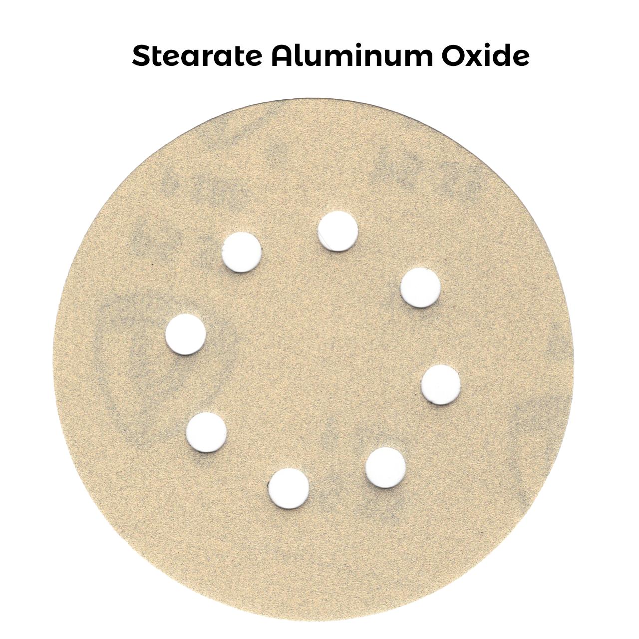 Klingspor Abrasives 5 Inch X 8 Hole Stearate Aluminum Oxide Discs