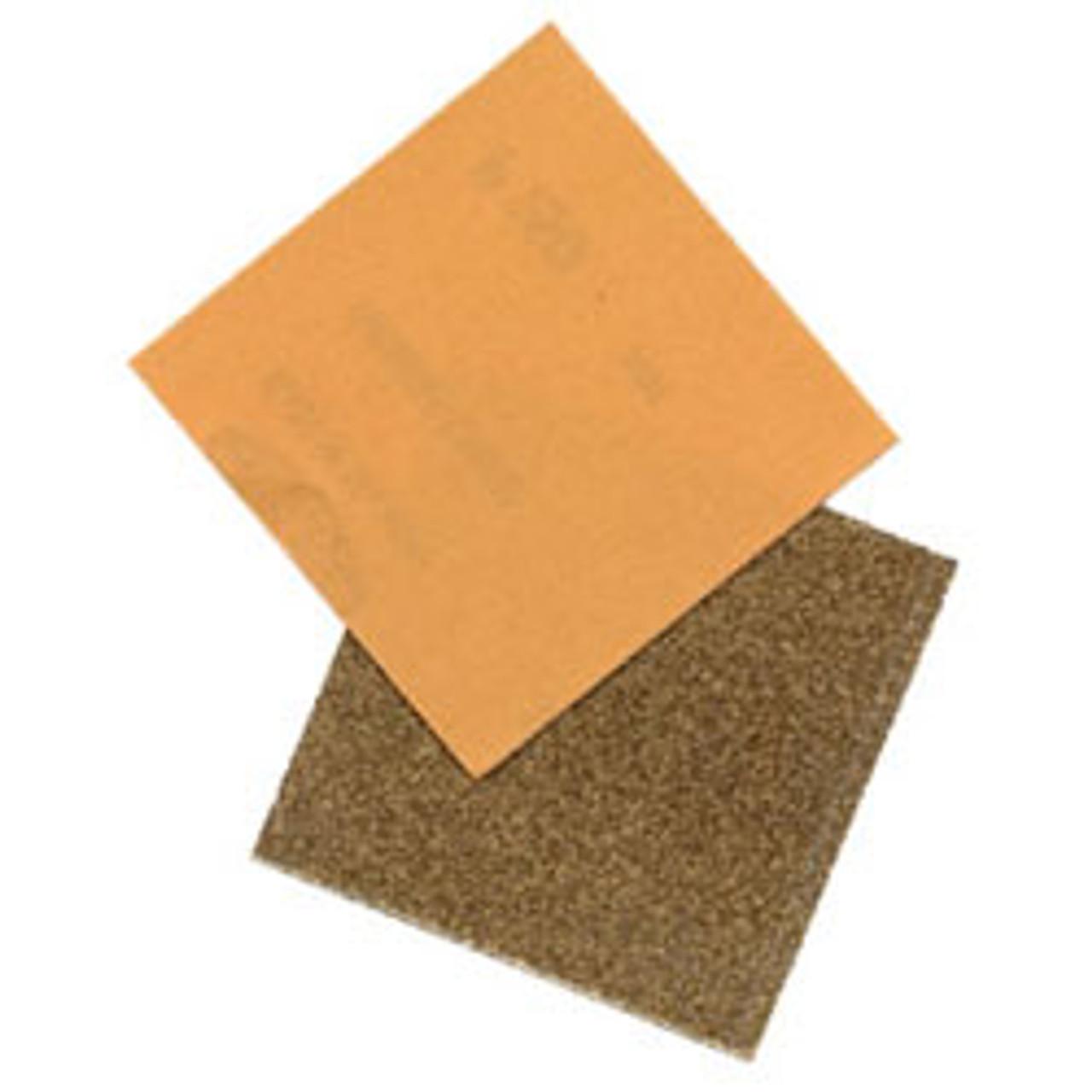 "Klingspor Abrasives Lightweight Aluminum Oxide, 4-1/2""x 4-1/2"" PSA Sheets, 120 Grit, 5pk"