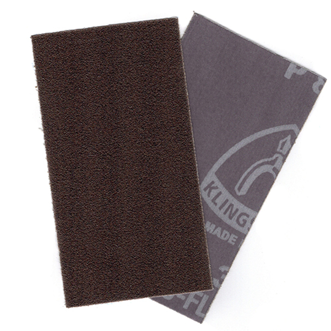 "Soft-Sanders 5"" Foam Profile Sanders, Adhesive Backed Abrasive Sheets 80 Grit 10pk"
