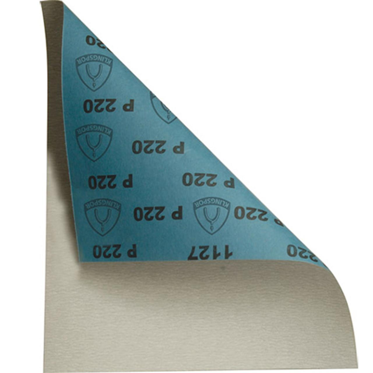 """9""""x11"""" Stearate Latex 220 Grit Sheet 5pk"""