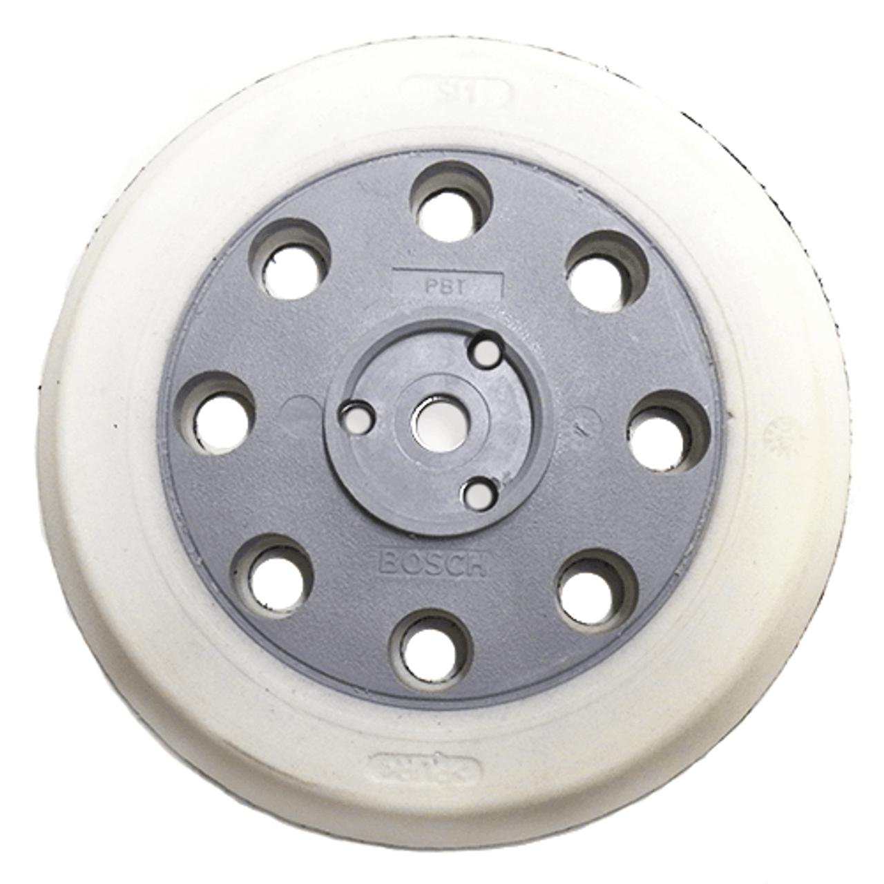 "Bosch 5""x 8 Hole Soft Sander Backing Pad, Hook & Loop"