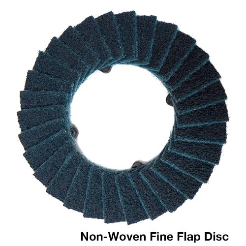 """Klingspor Abrasives CMT Quick-Change 4-1/2"""" Non-Woven Flap Disc Kit"""