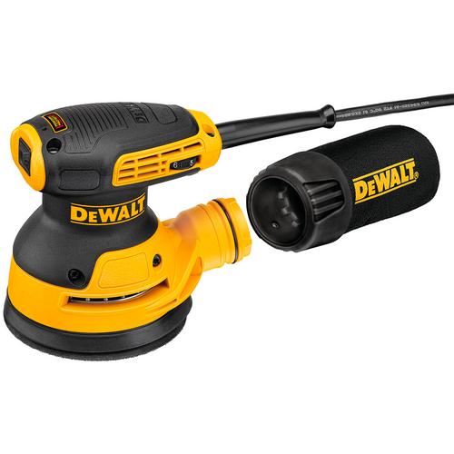 DeWalt DWE6423 5 in. Variable Speed Random Orbit Sander Kit