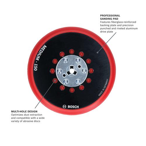 Bosch Backing Pad for GEX33-6N & GEX34-6N