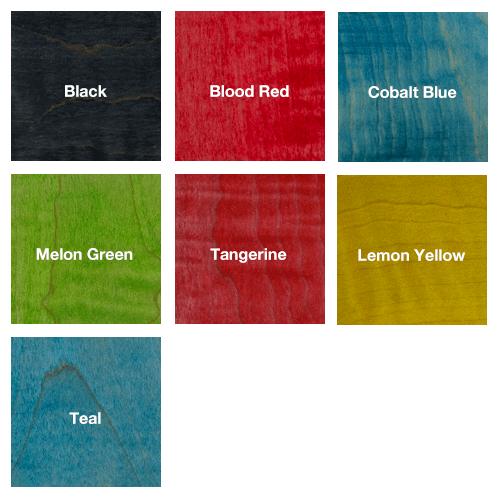 Wood Dye Assortment 7 Pack