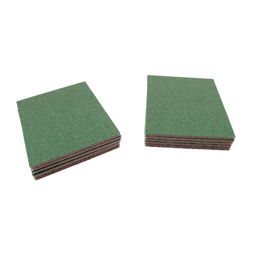 """Klingspor Abrasives Aluminum Oxide UltraFlex Sanding Pads, 4.5""""X 5.5""""X 1/4"""" Thick, 220 Grit, 10PK"""