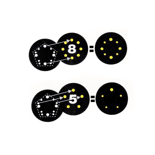 """""""Net"""" Protection Pad 5"""" /5 & 8 Holes"""