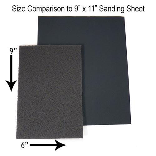 Nonwoven Handpads White No Abrasive 10pk