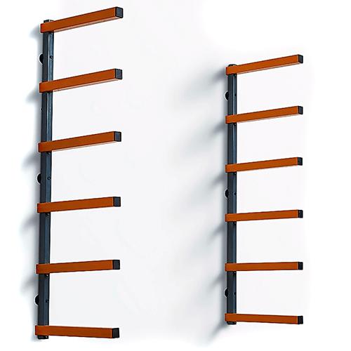 Bora Portamate Woodrack/Steel w/6 Levels