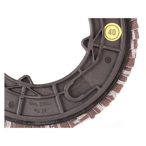 """Klingspor Abrasives CMT Quick-Change Backing Plate for 4-1/2"""" Flap Disc"""