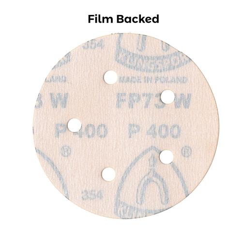 Klingspor Abrasives 5 Inch X 5 Hole Film Disc