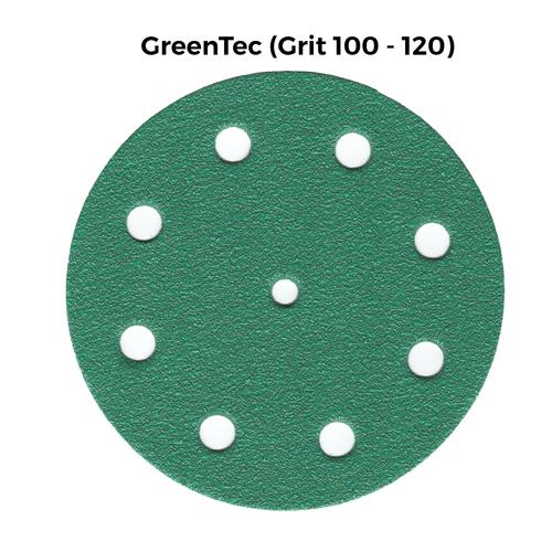 Klingspor Abrasives 5 Inch X 9 Hole GreenTec Disc