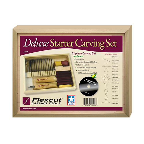 Flexcut 21 Piece Starter Carving Set