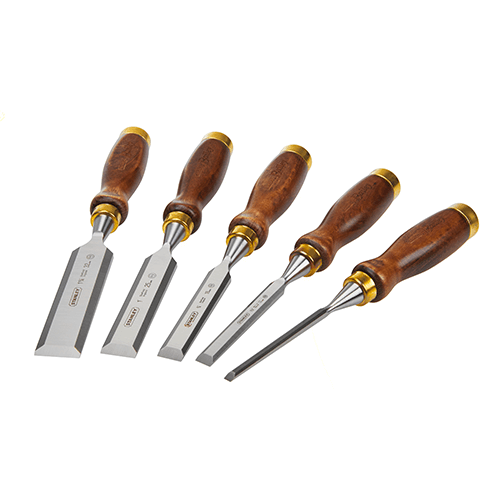 Stanley Chisels w/ Pouch 5 Piece