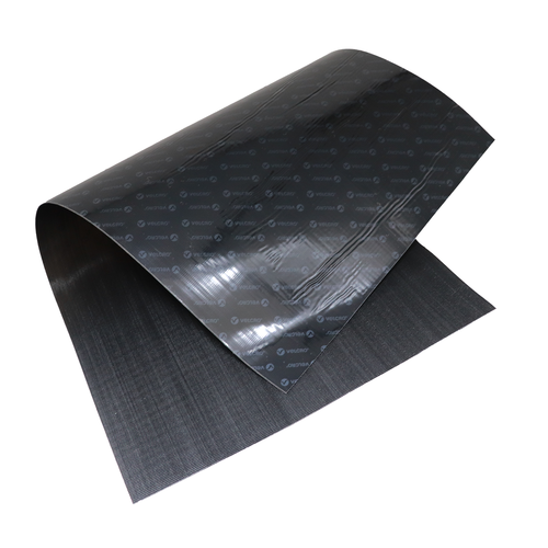 12x 24 Black Velcro Sheet with Sticky Backing