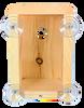 Wakefield Premium Bird Houses See Through Window Nesting Box