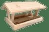 """Wakefield Premium Bird Houses Cottage Platform Bird Feeder, 10.5"""" x 18"""" x 13.25"""""""