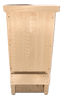 Wakefield Premium Bat Houses - Mini Bat Box Shelter with Echo-Location Slot - Up to 12 Bats