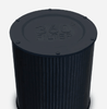 The high performing 360° filter consists of a fine mesh prefilter, true HEPA filter, and active carbon filter. Equipped with RFID intelligence for an easy filter change.