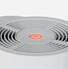 The current quality of the indoor air is indicated in a three color code via LED in the EASY-Touch panel.