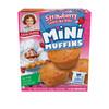 Front box of Little Debbie Strawberry Shortcake Rolls Mini Muffins