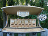 The Nutty Bar | Saloon Style Nut Feeder for Squirrels, Birds, Chipmunks, Wildlife | Handcrafted in The USA