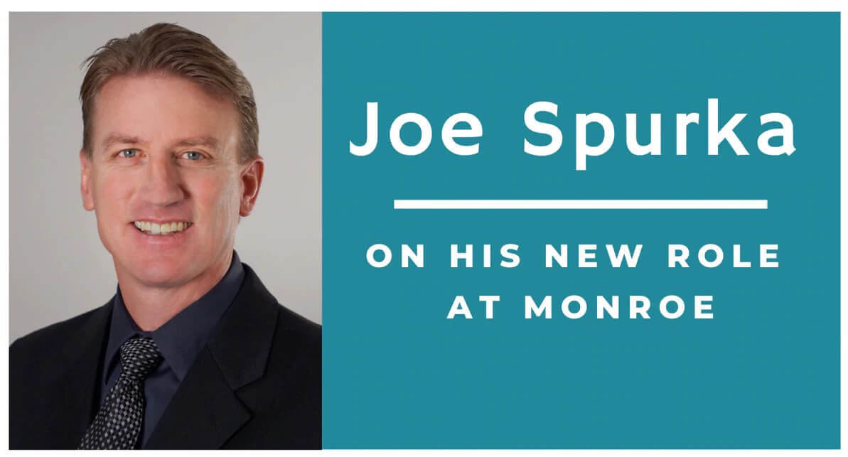 Monroe's Joe Spurka on His New Role as Administrative Manager