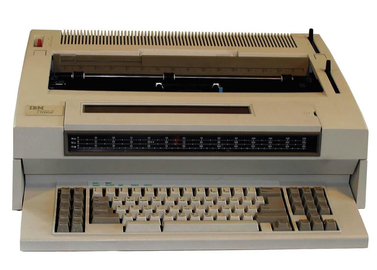 IBM Wheelwriter 6 Typewriter Office Products Other Office ...