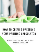 How to Clean and Preserve Your Monroe Printing Calculator