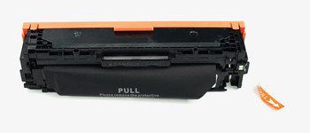 This is the front view of the Hewlett Packard 131X black replacement laserjet toner cartridge by NXT Premium toner