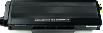 This is the front view of the Konica Minolta TNP24 black replacement laserjet toner cartridge by NXT Premium toner