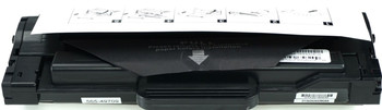 This is the front view of the Dell 7H53W black replacement laserjet toner cartridge by NXT Premium toner