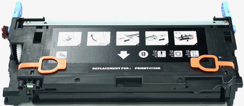 HP 501A (Q6470A) BLACK 6,000 PAGE YIELD REPLACEMENT LASERJET TONER CARTRIDGE