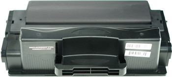 This is the front view of the Samsung MLT-D205L black replacement laserjet toner cartridge by NXT Premium toner