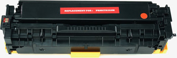 This is the front view of the Canon 118 magenta replacement laserjet toner cartridge by NXT Premium toner