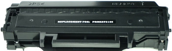 This is the front view of the Samsung MLT-D101S replacement laserjet toner cartridge by NXT Premium toner
