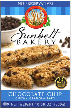 Sunbelt Bakery Chewy Chocolate Chip Chewy Granola Bars