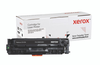 Black Standard Yield Everyday Toner from Xerox, replacement for HP CE410A Yields 2,200 pages
